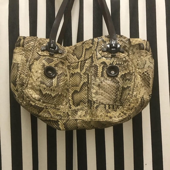 sports shoes best choice online for sale Jamin Puech Genuine Snakeskin Purse